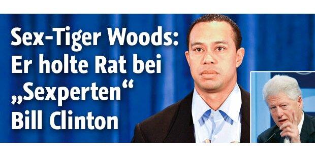 Tiger holte Rat bei Clinton und Obama