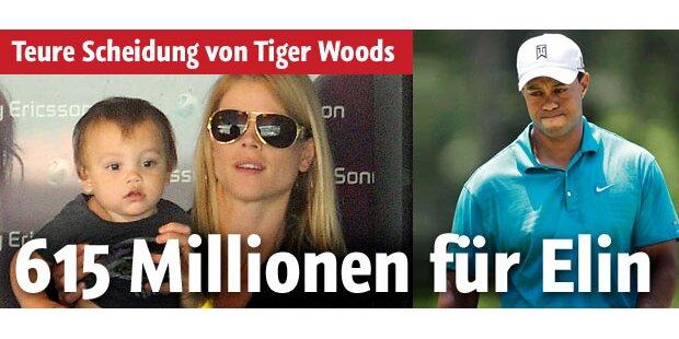 Woods muss für Affären jetzt bezahlen