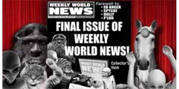 """""""World Weekly News"""" ist Pleite"""