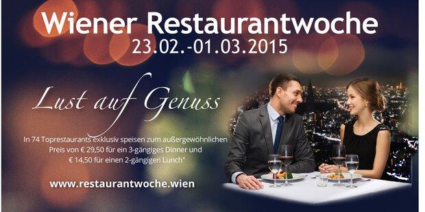 Die Top-Lokale der Wiener Restaurantwochen!