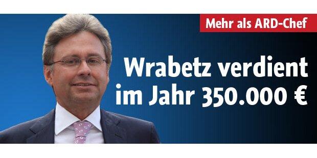 Wrabetz verdient im Jahr 350.000 Euro