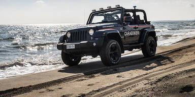 Extrem cooler Jeep für die Polizei