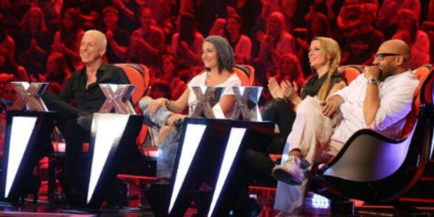 X-Factor wird trotz Jury-Zoff gekürzt