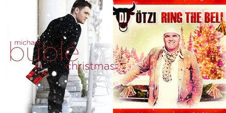 DJ Ötzi, Bublé und Co. besingen X-Mas