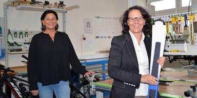 Landesrätin Gutschi besucht Zell am See Werkstätten