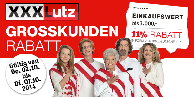 Anzeige Lutz