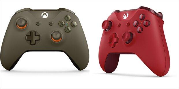 Neue Controller für die Xbox One (S)