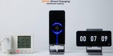 Neue Technik: Smartphone in 8 Minuten aufgeladen