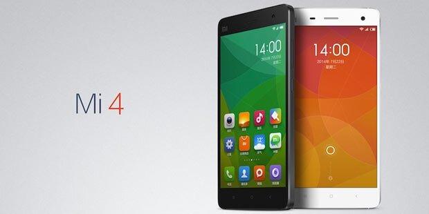 Xiaomi Mi4 greift iPhone & Co. an