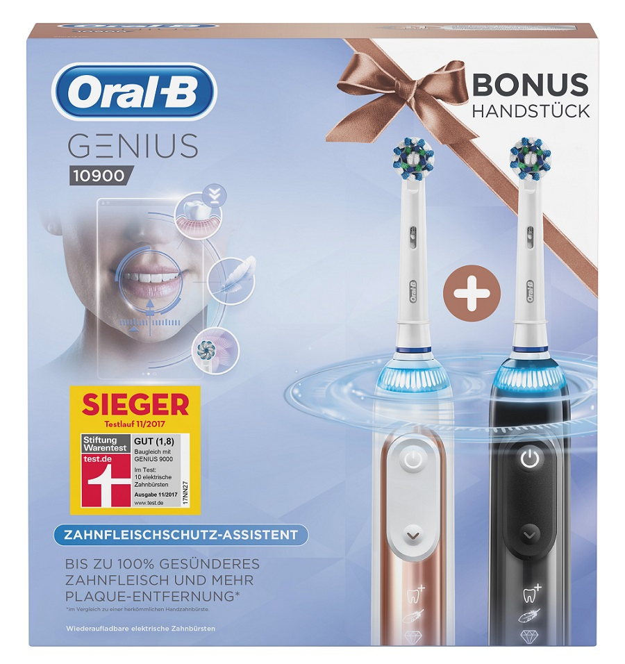 Oral-B - ADV - Xmas Edition Genius 10900 DuoPack