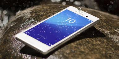 Sony Xperia M4 Aqua startet