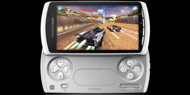 Xperia Play startet mit 6 Spielen durch