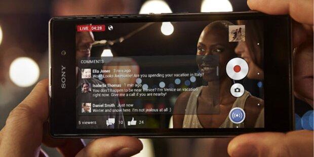 Sony Xperia Z1 mit 20-MP-Kamera ist da
