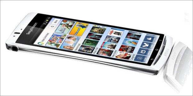 Sony Ericsson bringt das Xperia arc S
