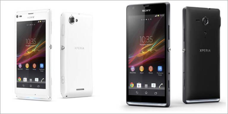 Sony bringt zwei neue Xperia-Smartphones