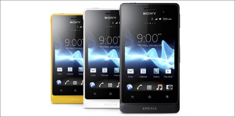 Sony bringt neues Outdoor-Smartphone