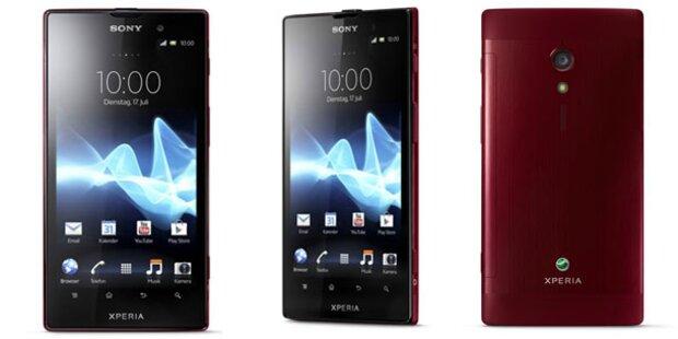 Sony bringt 3 neue Xperia-Smartphones