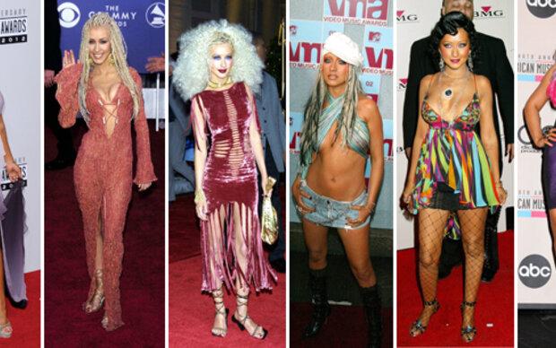 Die größten Modesünden von Christina Aguilera
