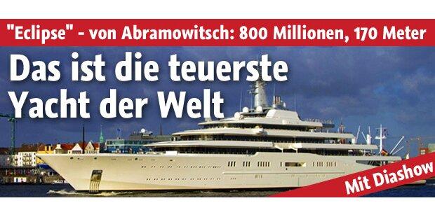 Teuerste yacht der welt abramowitsch  Roman Abramowitsch: Luxusyacht um 800 Mio Euro