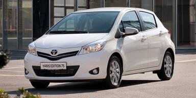 Toyota bringt den Yaris Edition 75