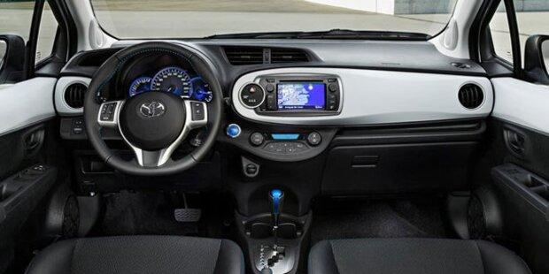 Neue Infos vom Toyota Yaris Hybrid