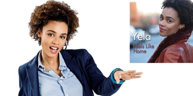 Yela präsentiert ihren Hit für Malmö