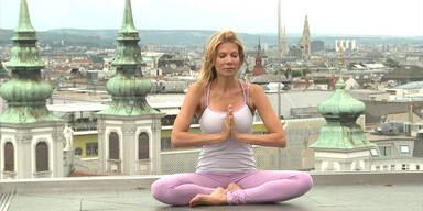 Ursula Karven: Yoga in Wien