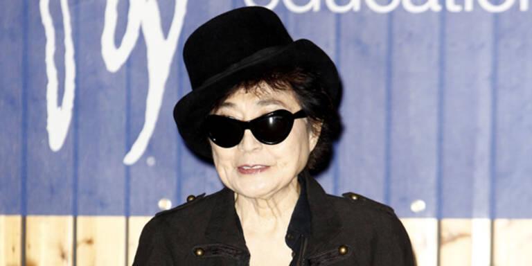 Yoko Ono feiert in Wien und Krems