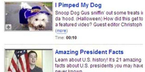 YouTube nascht vom Werbekuchen