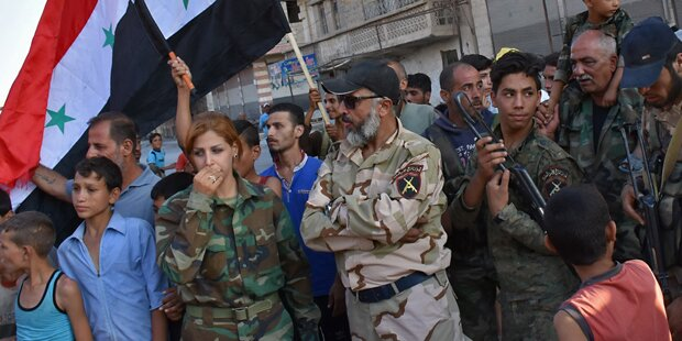 Syrischer Top-General droht Flüchtlingen