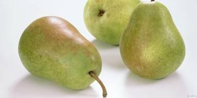 Zart schmelzend soll die Birne sein