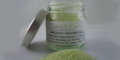 Zartgrünes Bärlauchsalz aus der Buckligen Welt Wildekollektionen