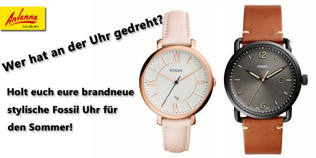 Holt euch eine stylische Fossil Armbanduhr