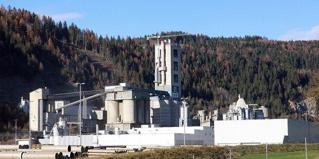 Zementindustrie steigerte die Produktion