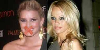 Zickenkrieg: Jessica Simpson & Pamela Anderson