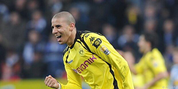 Dortmund-Stürmer Zidan erlitt Kreuzbandriss