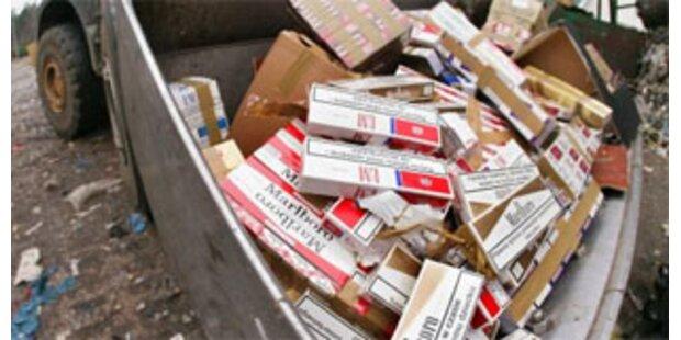 20.000 Zigaretten in Drasenhofen sichergestellt
