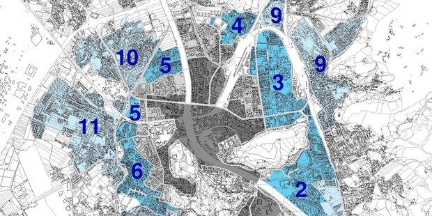 Die Kurzparkzonen in der Stadt Salzburg werden ausgeweitet