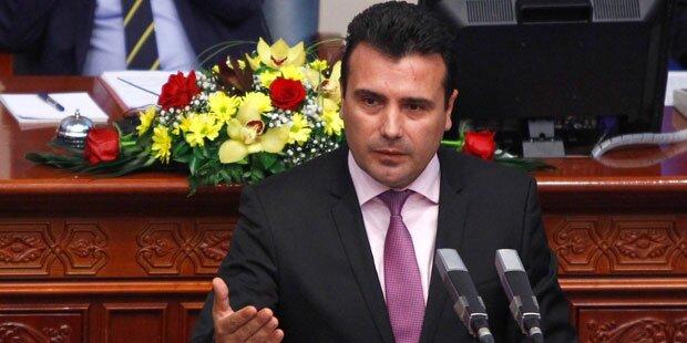 Mazedoniens Parlament billigt Änderung des Landesnamens