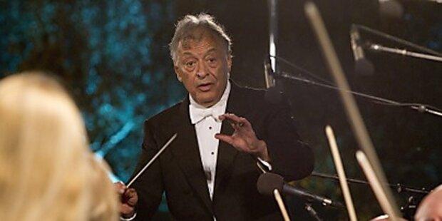 Zubin Mehta dirigiert Neujahrskonzert 2015