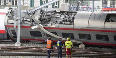 Zug entgleist Luzern