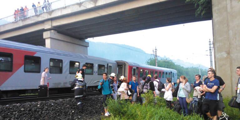 Schnellzug in der Steiermark entgleist