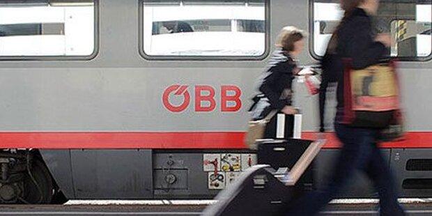 Zug-Chaos auf der Franz-Josefs-Bahn