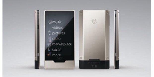 Zune HD startet gegen den iPod Touch