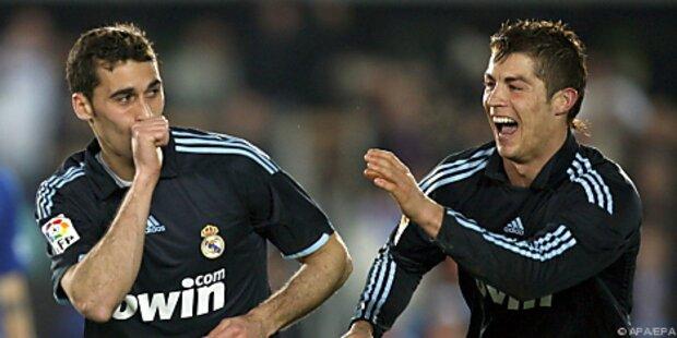 Real verkürzte Rückstand auf Barcelona