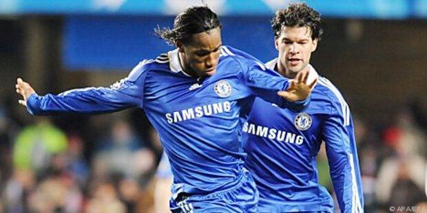 Chelsea bereits vier Punkte vor Manchester United