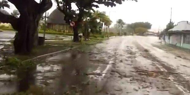 Zyklon verwüstet Pazifikinselstaat Samoa