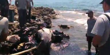 Dramatisch: Ölpest bedroht Zyperns Küste