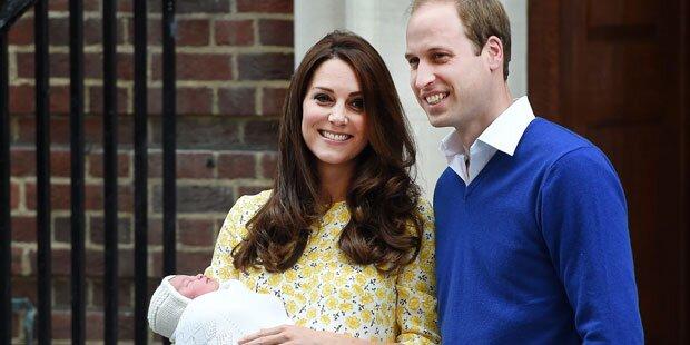 Kate & Will: Das dritte Baby kommt im...