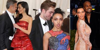 Robert Pattinson, Clooney, Kardashian